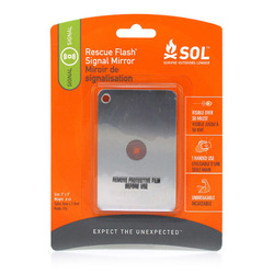Adventure Medical Kits SOL Rescue Flash Mirror