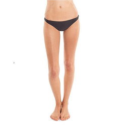 Amuse Society Everly Solid Skimpy Swim Bottoms - Women's
