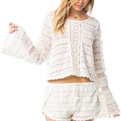 Amuse Society Hideaway Knit Top - Women's