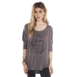 Amuse Whisky Bent Long Sleeve Shirt - Womens