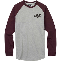 Analog Agonize Long Sleeve T Shirt - Mens