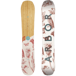 Arbor Swoon Rocker Snowboard - Women's 2019