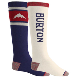 Burton Weekend Midweight Snowboard Sock Two Pack - Men's