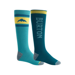 Burton Weekend Midweight Snowboard Sock Two Pack - Mens