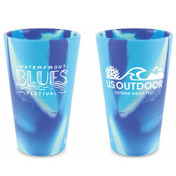Portland Water Front Blues Festival Official Silipint Pint Beer Glass