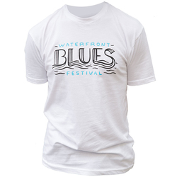 FLASH SALE!! Waterfront Blues Festival 2018 Line-up T-Shirt