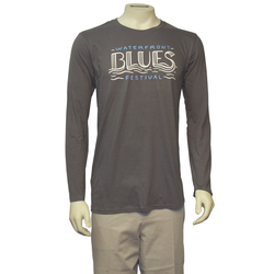 Waterfront Blues Festival Long Sleeve Tee Shirt