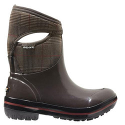 Bogs Prince Of Wales Mid Boots - Womens