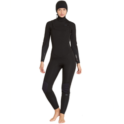 Billabong 5/4 Furnace Synergy Hooded Chest Zip Fullsuit - Women's