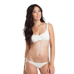 Billabong Bella Lace Flutter Bikini Top - Womens