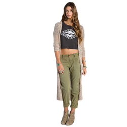 Billabong Castaway Duster Sweater - Womens