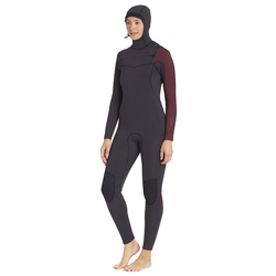 Billabong 5/4 Furnace Comp Chest Zip Hooded Fullsuit - Women's