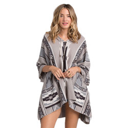 Billabong Pioneering For Days Poncho Sweater - Women's