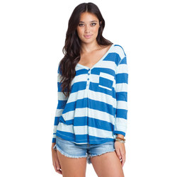 Billabong Shed Some Light Henley - Womens