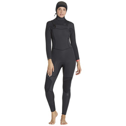 Billabong Synergy 5/4 CHest Zip Hooded Wetsuit - Women's