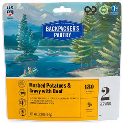 Backpackers Pantry Mashed Potatoes w/Gravy & Beef