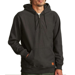 Brixton Longman 1/2 Zip Hood Fleece