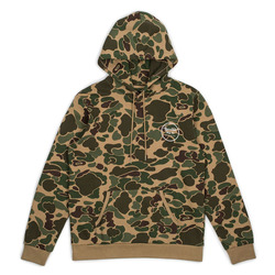 Brixton Wheeler Hood Fleece