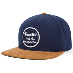 Brixton Wheeler Snap Back Hat