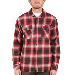 Captain Fin Shadow L/S Flannel
