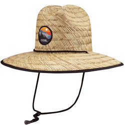 Coal The Clearwater Straw Hat