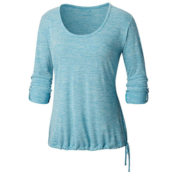 Columbia Kickin It Solid Pullover Shirt - Women's