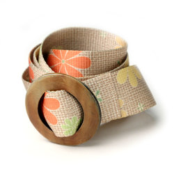 Croakies Daisy Horn Belt