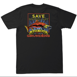 Dark Seas DS X Grudens Save Bristol Bay T-Shirt - Men's