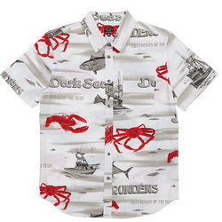 Dark Seas Poplin Shirt - Men's