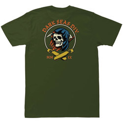 Dark Seas Justice Pigment Tee Shirt - Men's
