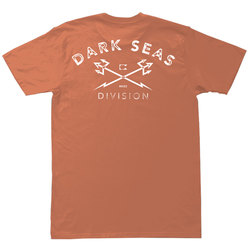 Dark Seas Rough Cut Pigment Tee Shirt - Men's