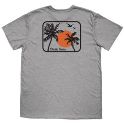 Dark Seas Travel Light Blended Tee Shirt - Men's