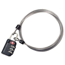 Eagle Creek 3-Dial TSA Lock & Cable