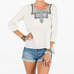 Element Farrah Woven Top - Womens
