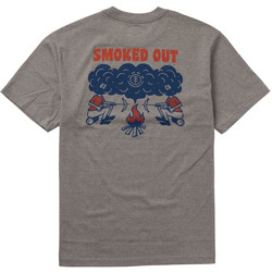 Element Smoke Backprint T-Shirt