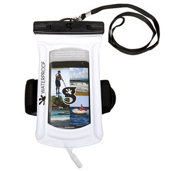geckobrands Float Phone Dry Bag With Arm Band