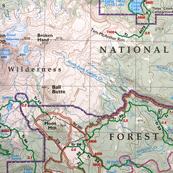 Green Trails Maps Broken Top, Oregon