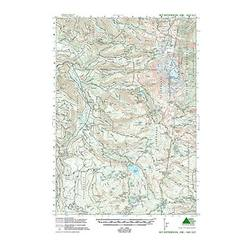 Green Trails Maps Mt Jefferson