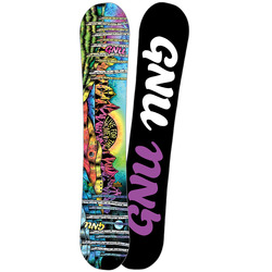 GNU Ladies Choice Snowboard - Women's 2018