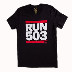 Grafletics Run 503 Tee