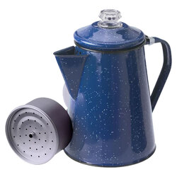 GSI Enamel Coffee 8-Cup Percolator