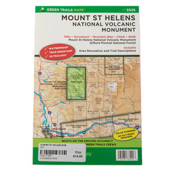 Green Trail Maps Mt. St Helens NVM