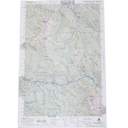 Green Trail Maps Silverton