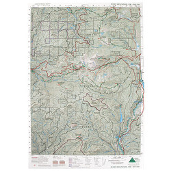 Green Trails Maps Echo Mtn