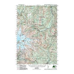 Green Trails Maps Mt Rainer East
