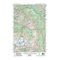 Green Trails Maps Mt Olympus