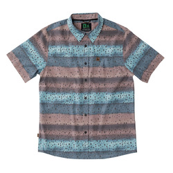 HippyTree Brown Trout Woven S/S Shirt