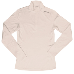 Hot Chillys Micro Elite Chamois 8K Solid Zip Shirt - Womens