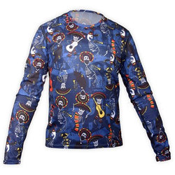 Hot Chillys Midweight Print Crew - Kid's