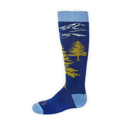 Hot Chillys Adventure Mid Volume Sock - Youth
